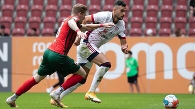 Augsburg-Cagliari 3-1, non basta Joao Pedro