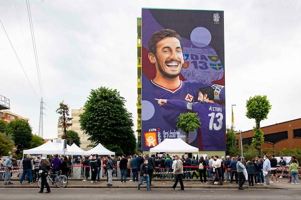 Fiorentina, dedica ad Astori e Jarque nell'amichevole con l'Espanyol