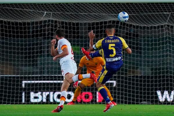 Verona-Roma 3-2, il tabellino