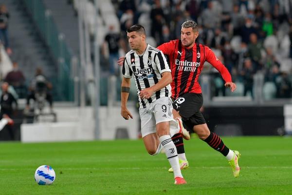 Juve-Milan 1-1, il tabellino