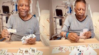 """Pelé, la figlia tranquillizza i fan: """"Ha compiuto diversi passi"""""""