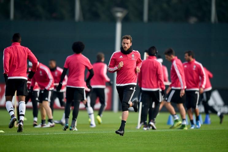 Juventus, allenamento terminato in vista della gara con il Frosinone