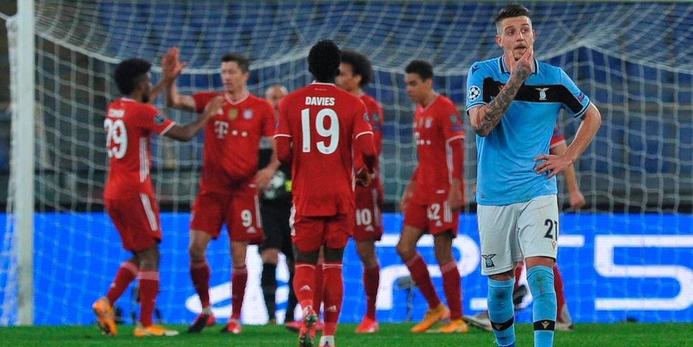 Lazio-Bayern Monaco 1-4: bavaresi con un piede ai quarti