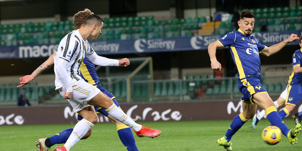 Verona-Juventus 1-1, il tabellino