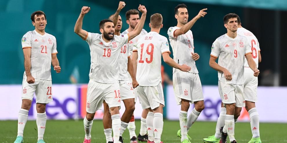 Svizzera-Spagna 2-4 dopo i rigori: Luis Enrique contro l'Italia
